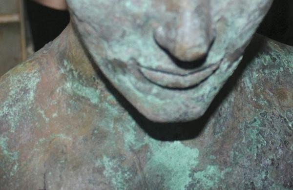 Peinture effet bronze vieilli